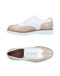 Wexford Lace Up Shoes Beige