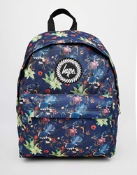 Hype Backpack With Bird Print Mu1multi1