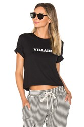 A Fine Line Villain Brothers Crop Tee Black