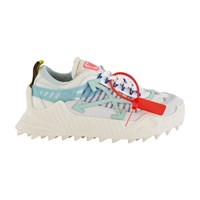 Off White Odsy 1000 Trainers White Pale Blue