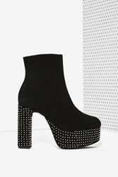 Nasty Gal Laurita Studded Platform Boot
