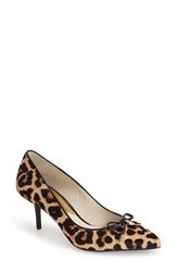 Michael Michael Kors 'Nancy' Pointy Toe Pump Women Cheetah
