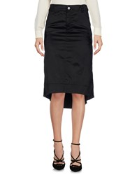 Richmond Denim 3 4 Length Skirts Black
