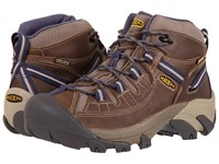 Keen Targhee Ii Mid Waterproof Goat Crown Blue Women's Waterproof Boots Brown