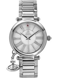 Vivienne Westwood Mother Orb Charm Watch Silver
