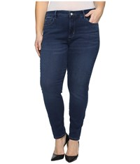 Nydj Plus Size Alina Leggings In Super Sculpting Denim In Luxembourg Luxembourg Women's Jeans Black