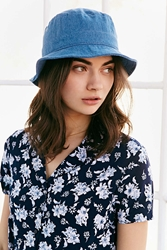 Urban Outfitters Denim Bucket Hat Indigo