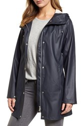 Ilse Jacobsen Illse Hornbaek Raincoat Dark Indigo