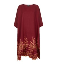Eskandar Embroidered Linen Tunic Dress