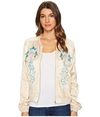 Blank Nyc Embroidered Jacket In Pink Lady Pink Lady Women's Coat