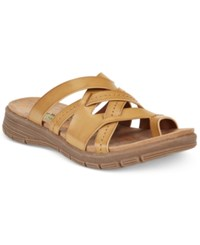 Bare Traps Cassy Slide Sandals Women's Shoes Auburn