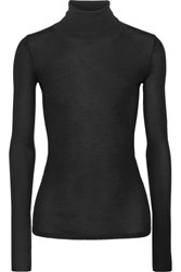 Joseph Wool Turtleneck Sweater Black