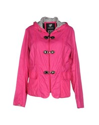 Piero Guidi Coats And Jackets Jackets Women Fuchsia