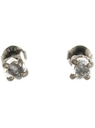 Bjorg Herkimer Stud Earrings Metallic