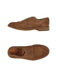 Selected Homme Lace Up Shoes Brown