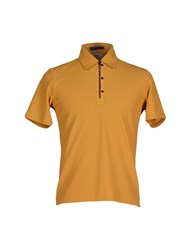 Allegri Topwear Polo Shirts Men Ocher