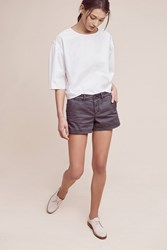 Anthropologie Shortie Chino Shorts Black