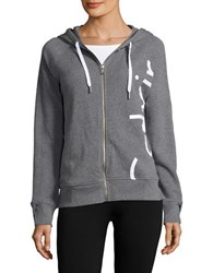 Calvin Klein Hooded Long Sleeve Jacket Heather Grey