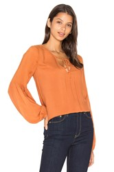 Sanctuary Scarlet Blouse Orange
