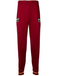 Nike Classic Tracksuit Trousers Red