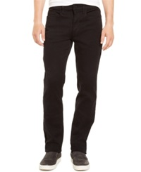 Kenneth Cole Reaction Knit Denim Slim 970 Jeans Black