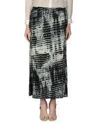 Leon And Harper Long Skirts Black