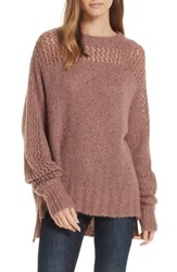 Brochu Walker Josep Alpaca Wool Sweater Rowe Tweed