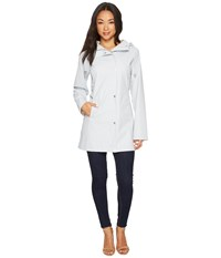 Ilse Jacobsen Lightweight Slicker White Blue Coat
