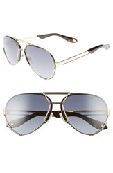Givenchy Men's 7014 S 65Mm Aviator Sunglasses Gold