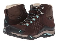 Oboz Sapphire Mid Bdry Java Women's Shoes Brown