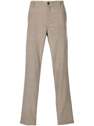 A Kind Of Guise Straight Leg Corduroy Trousers Cotton Nude Neutrals