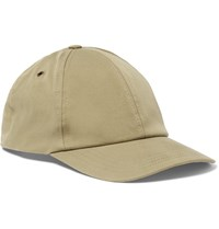 Ami Alexandre Mattiussi Stretch Cotton Baseball Cap Cream