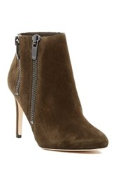 Via Spiga Vashti Almond Toe Bootie Green