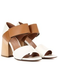 Marni Exclusive To Mytheresa.Com Leather Sandals Multicoloured