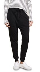 James Perse Slouchy Sweatpants Black