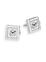 Saks Fifth Avenue Watch Cuff Links No Color