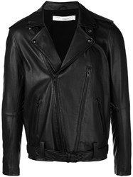 Iro Slim Fit Biker Jacket Black