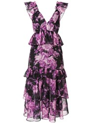 Alice Mccall Floral Print Ruffled Dress 60
