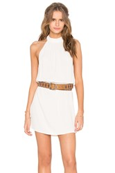 Flynn Skye Poppy Mini Dress White