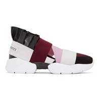Emilio Pucci Black City Up Sneakers