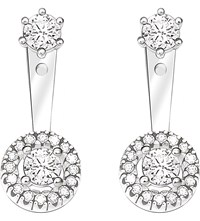 Thomas Sabo Glam And Soul Sterling Silver And White Zirconia Earrings