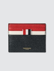 Thom Browne Double Sided Card Holder Blue