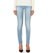 Armani Jeans Push Up Skinny Mid Rise Jean Denim