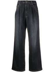 Brunello Cucinelli High Waisted Oversized Jeans 60
