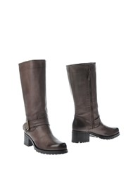 Maria Cristina Footwear Boots Women Dark Brown