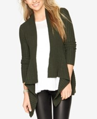 Autumn Cashmere Maternity Open Front Cardigan Jungle