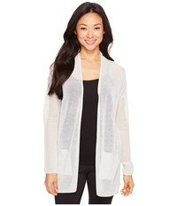 Lole Marnie Cardigan White Heather Women's Sweater