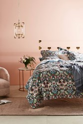 Anthropologie Liberty For Velvet Strawberry Thief Quilt A S