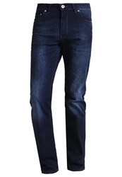 Bugatti Madrid Straight Leg Jeans Blau Dark Blue