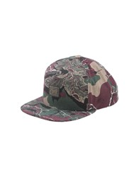 Obey Accessories Hats Men Maroon